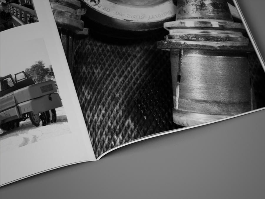 Impaginazione Brochure Tarabelli Marmi