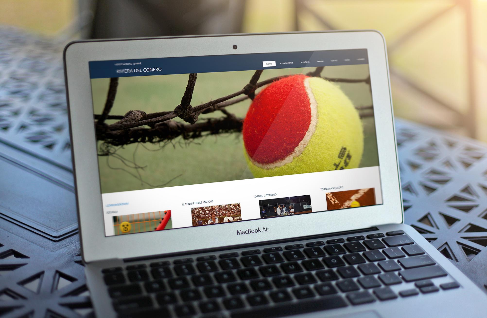 Sito Circolo Tennis Desktop