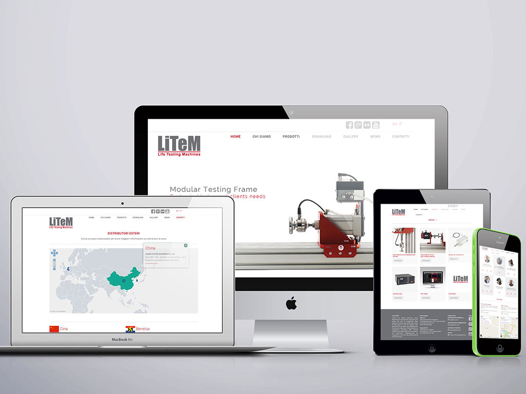Sito web per Litem - Life Testing Machines