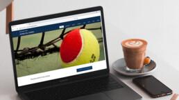 Sito web per Associazione Tennis Riviera del Conero