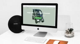 Sito web per Limcar veicolo elettrico