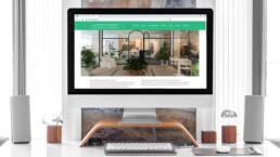 Sito web per negozio di arredamento Vittoria Ribighini