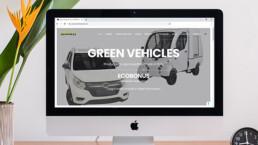 Sito web per produttori di veicoli elettrici